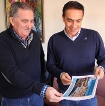 Antonio Escámez informa que el Ayuntamiento ultima el Plan Municipal de Vivienda y Suelo
