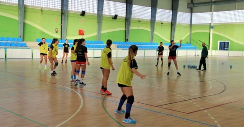 Concentración en la Costa Tropical de las selecciones andaluzas de balonmano de las categorías Infantil, Cadete y Juvenil