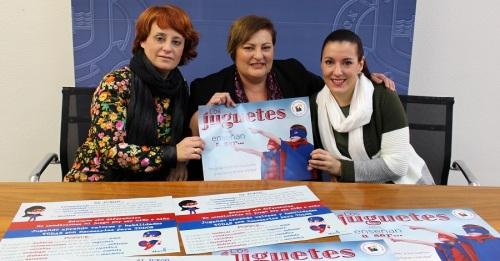 El Ayuntamiento de Motril presenta la 'Campaña del Juego y Juguete No Violento y No Sexista'