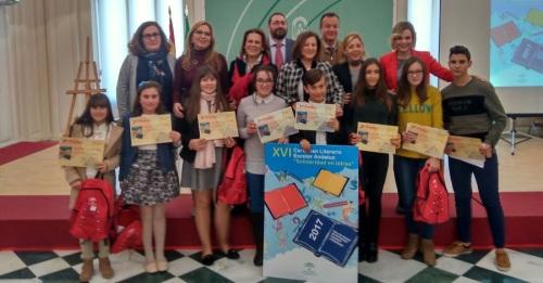 El Mayor Zaragoza gana distintos premios en el XVI Certamen Literario Escolar Andaluz 'Solidaridad en Letras'
