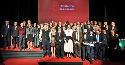 El poeta Antonio Carvajal y el gestor cultural Alfonso Alcalá, hijos predilecto y adoptivo de la provincia_