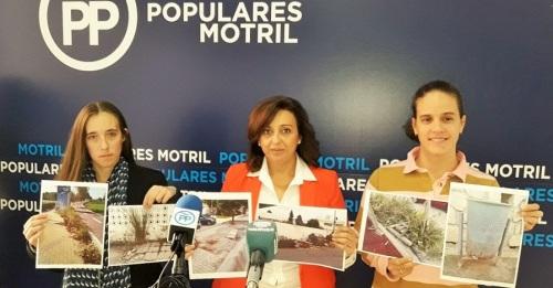 El PP pide mayor atención a los barrios de Motril por parte del Ayuntamiento