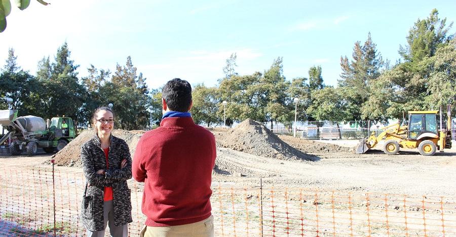 El solar municipal entre la Rambla de Puntalón y la avenida Porvenir se convertirá en una pista multideportiva