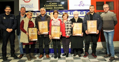 Foto de familia de los Premios Motril Migrante