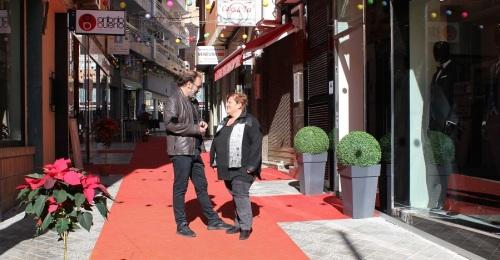 La calle Ventura de Motril será el escenario este sábado de la 'I Pasarela Performance Ventura_