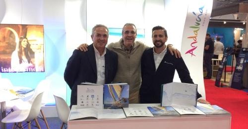 Marinas de Andalucía continúa con su campaña internacional con la visita al London Boat Show