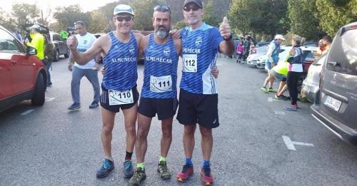 Participación del Club Atletismo Sexitano en la II Edición del Trail Almanzor