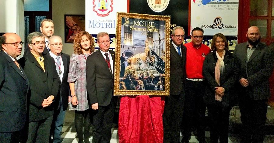Presentación del cartel de Semana Santa de Motril