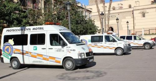 Protección Civil activa un dispositivo especial por las alertas amarilla y naranja por mal tiempo en la Costa