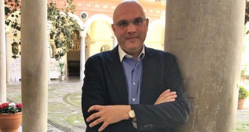 Raúl Fernández, portavoz de Cs en la Diputación de Granada