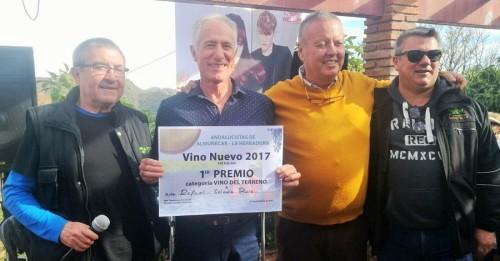 Rafael Salado Ruiz ganó el concurso de Vino Nuevo 2017 celebrado en Rescate
