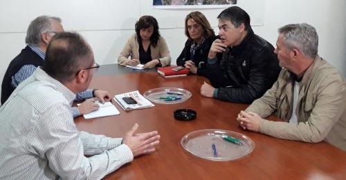 Rojas se reúne con los Regantes para explicarles los avances de RULES
