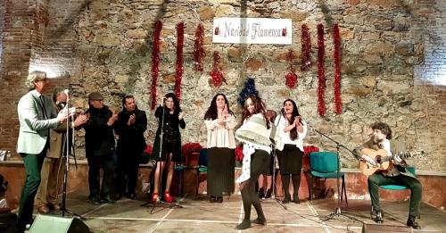 Una repleta Nave de los Arcos vivió una 'Navidad Flamenca' con mucho duende