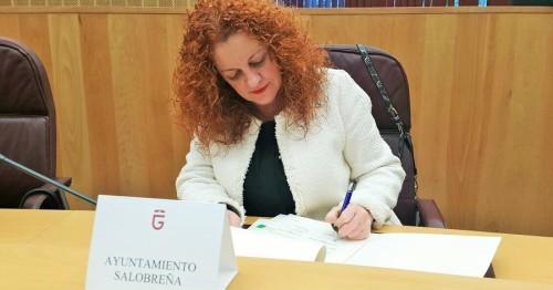 Alcaldesa de Salobreña, María Eugenia Rufino