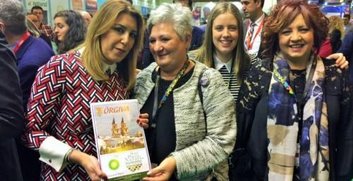 Órgiva refuerza en Fitur su proyecto de desarrollo turístico