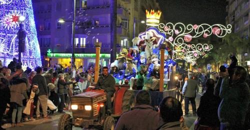 Cabalgata de Reyes en Motril