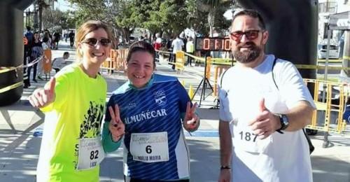 El Club Atletismo Sexitano en laII Edición de la Carrera ELA Carchuna Calahonda