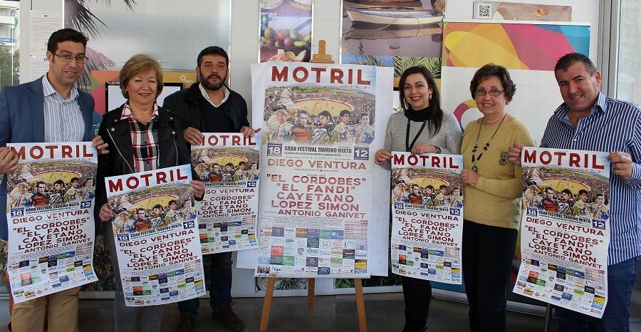 El gran Festival Taurino Mixto de Motril se celebrará el 18 de febrero