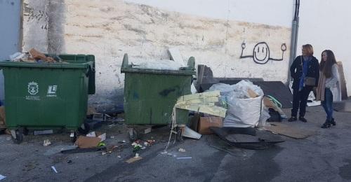 El Partido Popular pide un mayor mantenimiento del Polígono del Vadillo