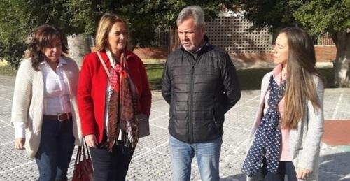 El PP visita la Fabriquilla y pide a Almón que continúe los trabajos de mejoras iniciados por los populares