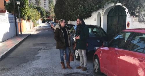 El PSOE critica el estado de abandono en el que se encuentra el barrio de Fígares