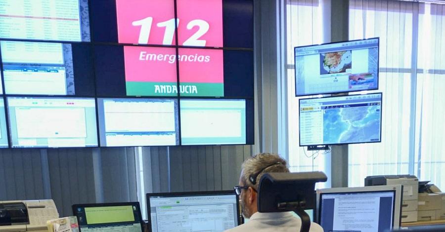 Emergencias 112 en Granada gestionó casi 4.000 incidencias durante las fiestas navideñas