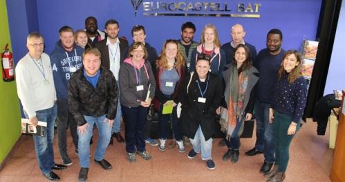Estudiantes ingleses aprenden sobre innovación agroalimentaria en Grupo La Caña