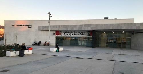 Exterior de la estación autobuses Motril