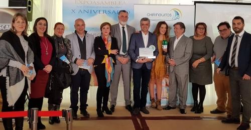 Francisco Trujillo, reelegido por unanimidad presidente de la Asociación de Chiringuitos de la Costa Tropical