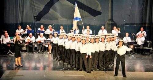 Gran actuación en Almuñécar del 'Coro, Ballet y Orquesta del Ejército Ruso'