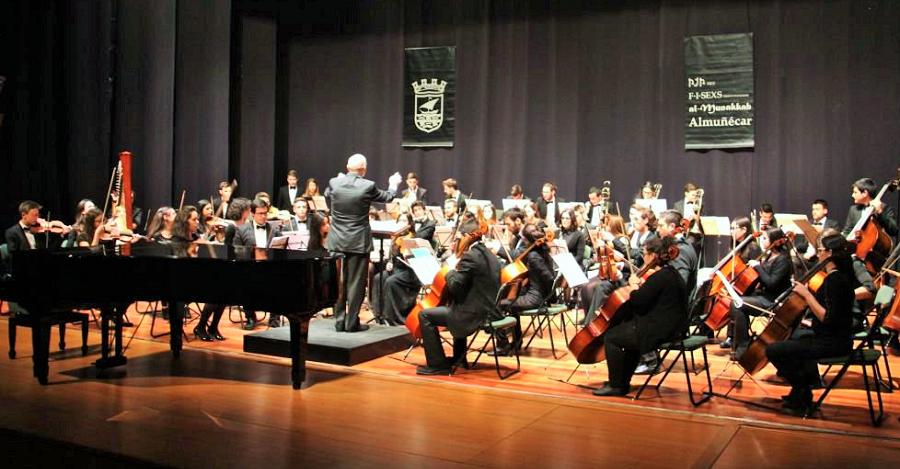 Joven Orquesta del Mediterráneo en Almuñécar