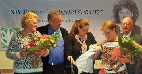 Los premios 'Paquita Ruiz' 2018 se entregarán el jueves 8 de febrero