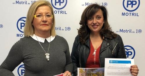 Rueda de prensa Angeles Lopez e Inmaculada Torres