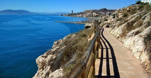 Ruta de senderismo por la costa malagueña entre Valle Niza y El Palo