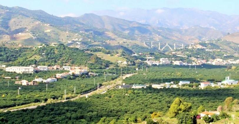 Valle del río Verde en Almuñécar