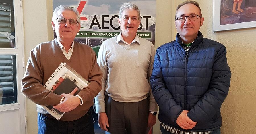 AECOST y la Comunidad de Regantes del Bajo Guadalfeo buscan colaborar por el futuro del agua de la Costa Tropical