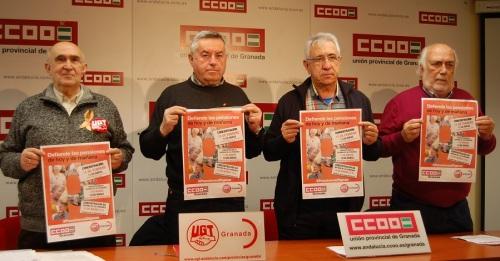 CCOO y UGT se movilizan para defender las pensiones de hoy y mañana