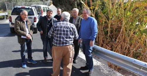 Concluyen las obras de la carretera de Los Tablones