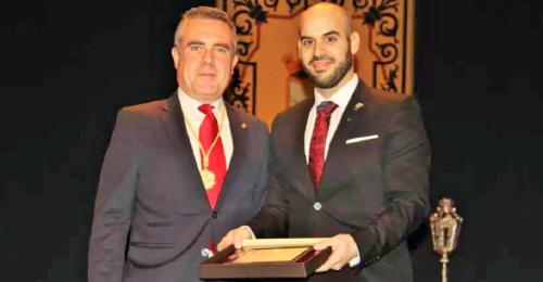 David Martín García ofreció un bello y sentido pregón de la Semana Santa de Almuñécar 2018