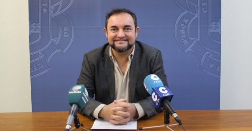 El concejal de Participación Ciudadana, Miguel Ángel Muñoz