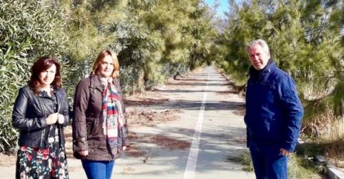 El PP denuncia el estado de los viales junto a la ZAL del Puerto en Varadero