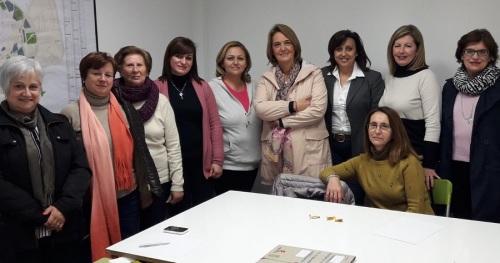 El PP visita los talleres de AGRAFIM y destaca la labor social que realiza