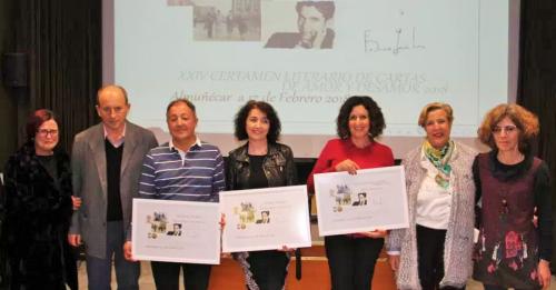Eva Balaguer recoge el primer premio del XXIV Certamen de Cartas de Amor y Desamor de Almuñécar 2018