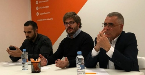 Fran Hervías resalta la implantación de Ciudadanos en la provincia de Granada