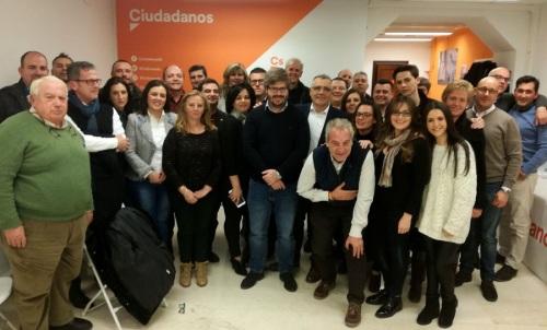 Fran Hervías resalta la implantación de Ciudadanos en la provincia de Granada_