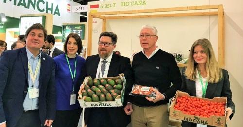 Grupo La Caña posiciona su producción ecológica en Biofach 2018