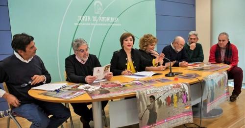 Instituciones y colectivos recuerdan a las víctimas de 'La Desbandá_ en el 81 aniversario de la masacre franquista