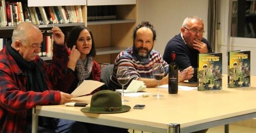 Juanfran Cabrera presentó en La Herradura su libro de comic 'Los Caballeros de la Orden de Toledo'