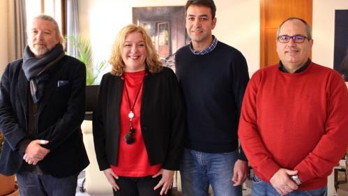 La alcaldesa de Motril se reúne con el coordinador nacional de 'Andalucía por Sí', Joaquín Bellido.jpg