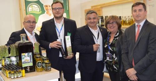 La Diputación de Granada participa junto a 14 cooperativas en la inauguración de Fruit Logística en Berlín